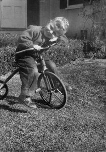 Photo of Division of Drinking Water Director Ken Bousfield as a very young boy