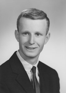 Photo Division of Drinking Water Director Ken Bousfield as a young engineer