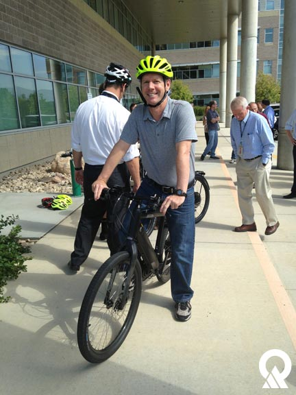 Pat Sheehan takes an eBike for a spin.