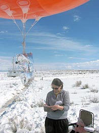 Weather Ballon Research.