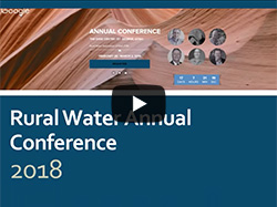 February 12, 2018: Shannon Rasmussen, Utah Rural Water Association, reviews the exciting events and seminars scheduled for the Rural Water Conference.