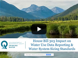 March 26, 2018: Assistant Division of Drinking Water Director Ying-Ying Macauley explains how H.B. 303 will impact public drinking water systems in Utah.