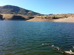 East Canyon Reservoir, October 2, 2019