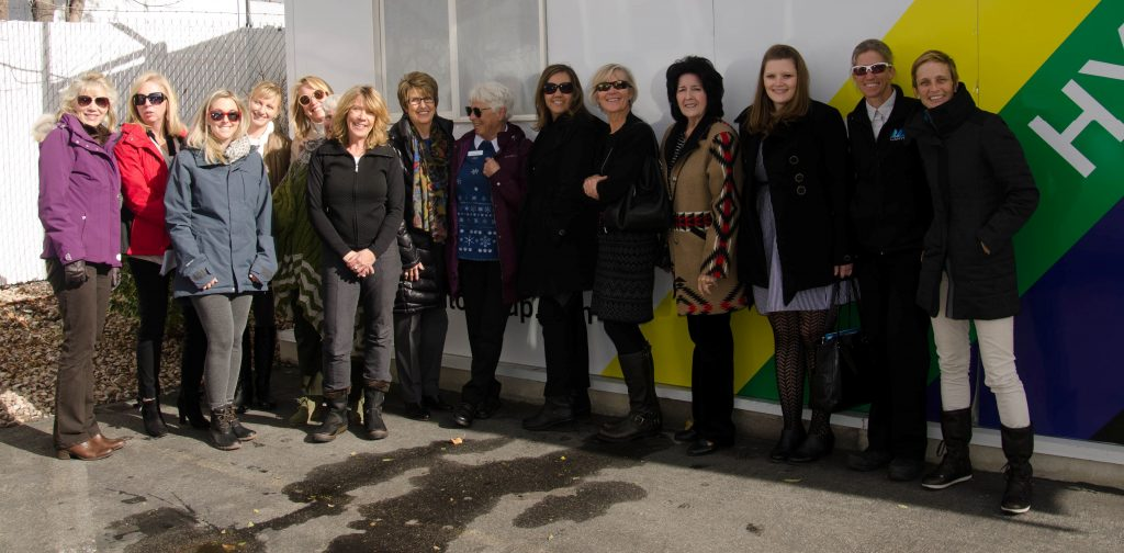 Utah women leaders gather during the Alternative Transportation Talk and Tour