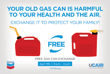 Free Gas Can Exchange Add