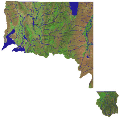 Bear River Watershed Map