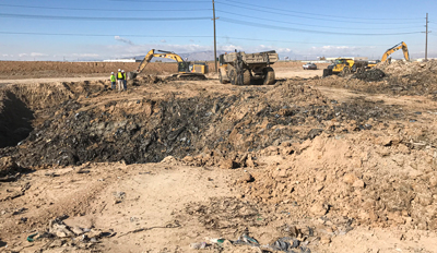Corrective action at Spanish Fort, Utah landfill