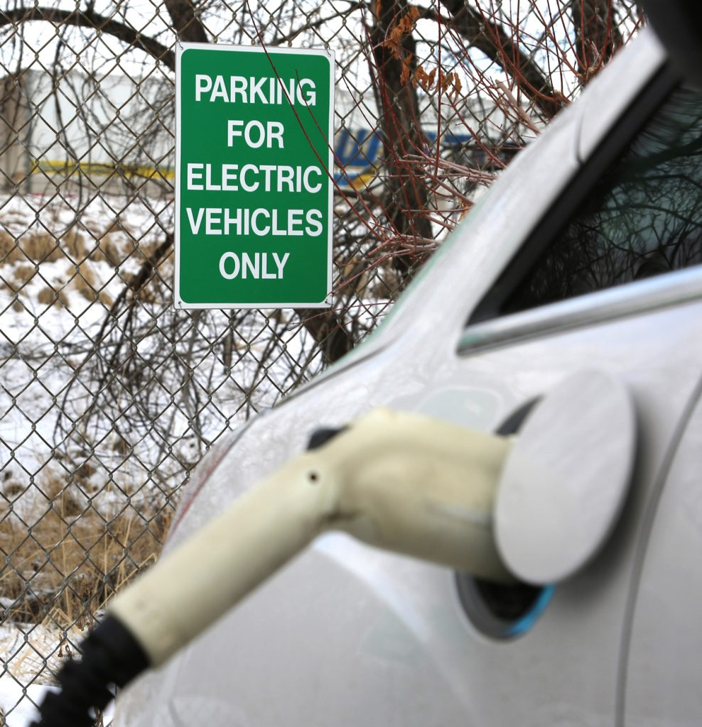 Electric vehicle EV Chargers at the Utah Department of Environmental Quality