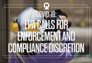 EPA calls for enforcement and compliance discretion