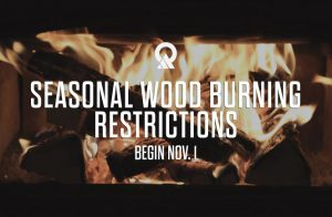 Image with Season Wood Burn Restrictions Begin Nov. 1