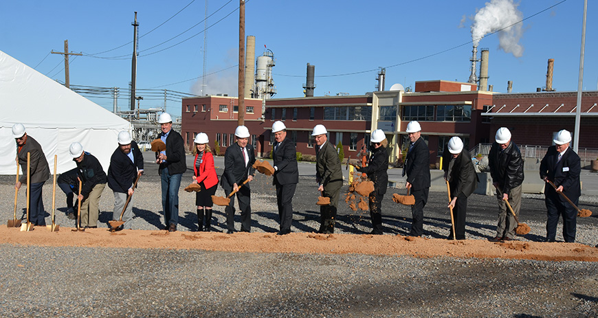 Groundbreaking ceremony at Andeavor, Utah's first refinery that will make low-sulfur Tier 3 fuel