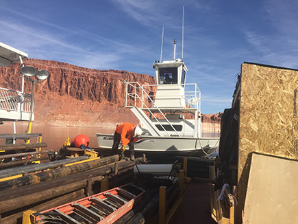 Lake Powell Coring Project