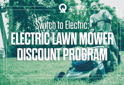Electric Lawn Mower Discount Program