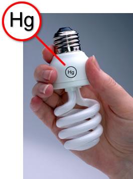Mercury CFL Lamp