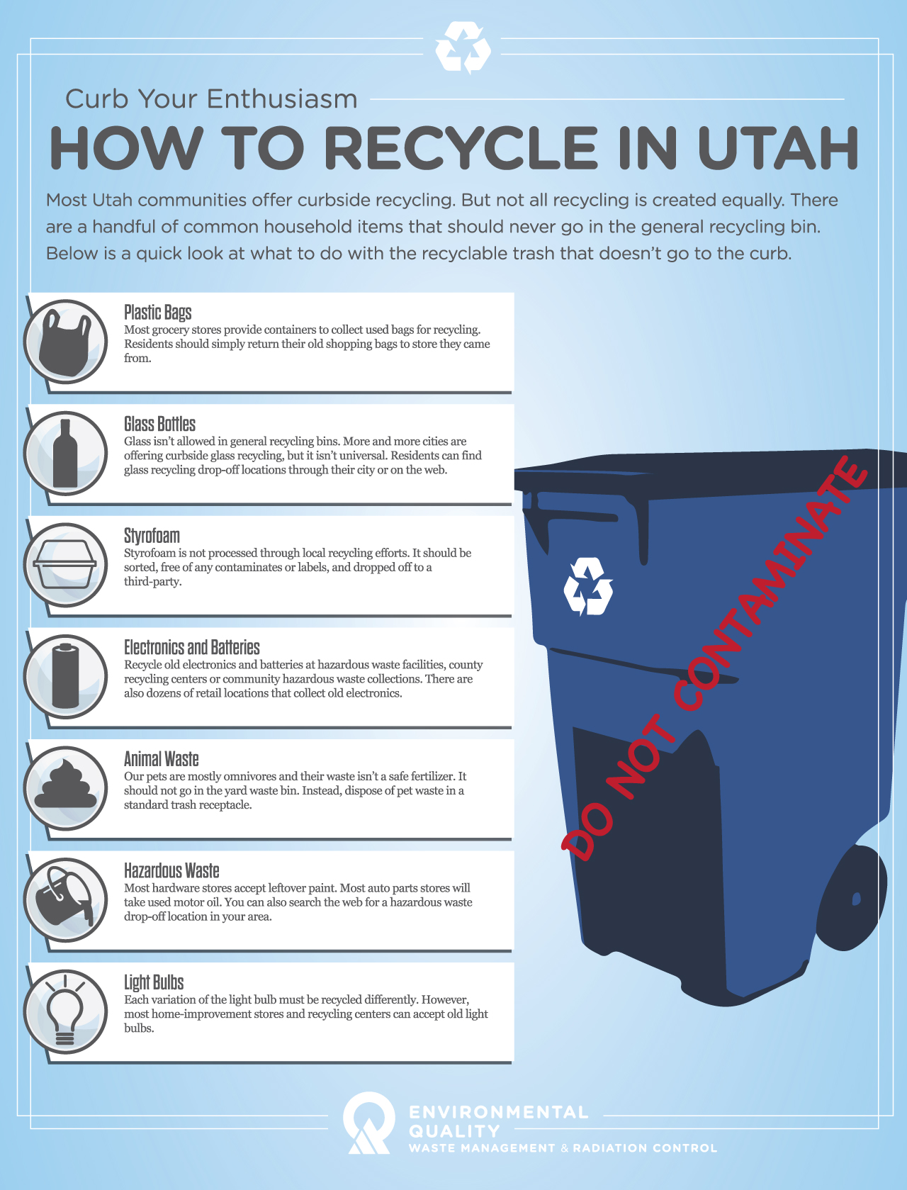 Curb Your Enthusiasm How To Recycle Right In Utah