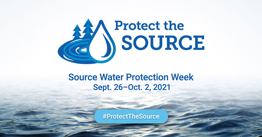 Source Water Protection Week Banner