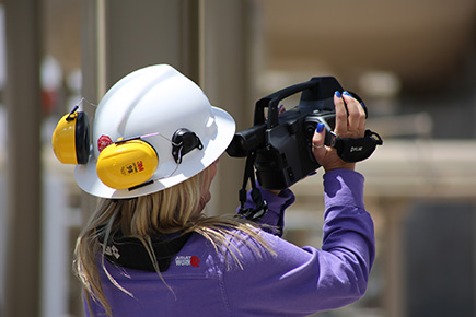 ULend provides Uinta Basin oil and gas producers with access to an infrared camera to check for VOC leaks.