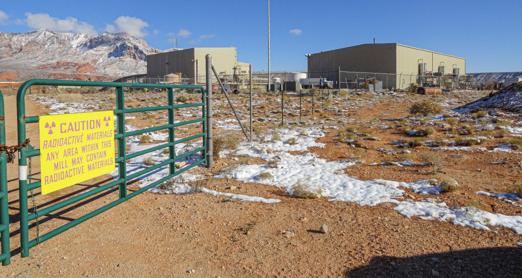 Uranium Mill in Shootaring Canyon, Utah