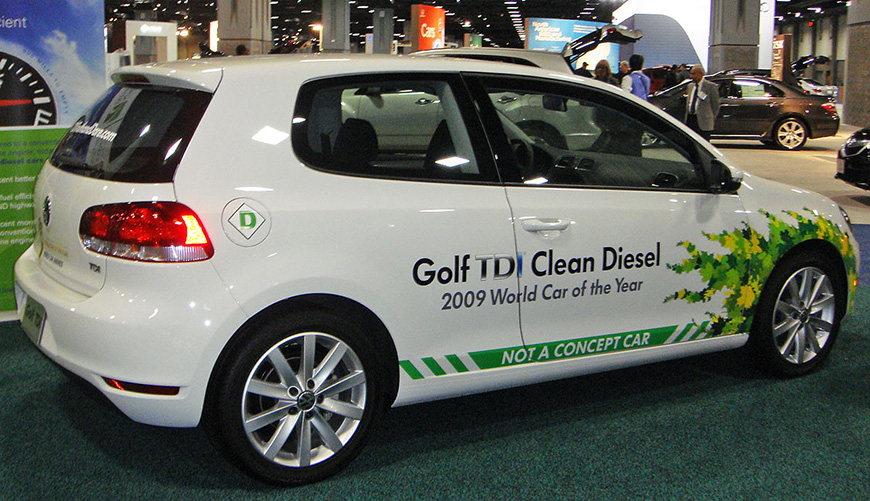 2010 Volkswagen Golf with defeat device. Photo credit: Mario Roberto Duran Ortiz