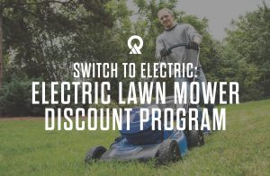 Electric Lawnmower Discount Program