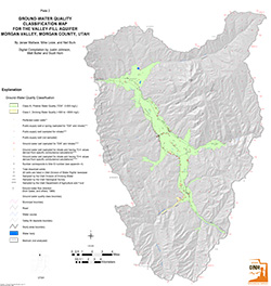 Morgan Valley, Plate 2, Ground Water Quality Classification Map